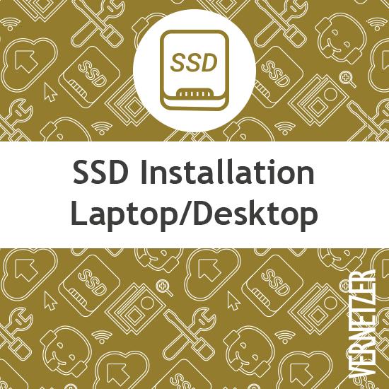 SSD upgrade einbauen